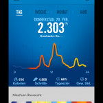 Nike+ | Fuelband SE - Daily overview