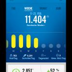 Nike+ | Fuelband SE - Weekly summary