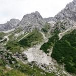 Muttekopfhuette   view from climbing area